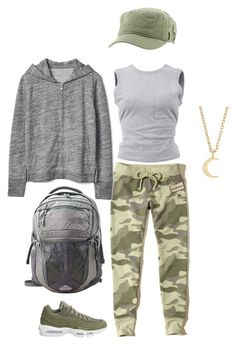 Sweats by rebecca-shosey on Polyvore featuring T By Alexander Wang, Gap, Hollister Co., NIKE, The North Face, Ileana Makri and Roxy