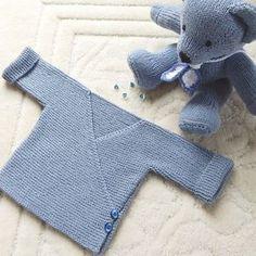 Baby Cardigan - Free Knitting Pattern