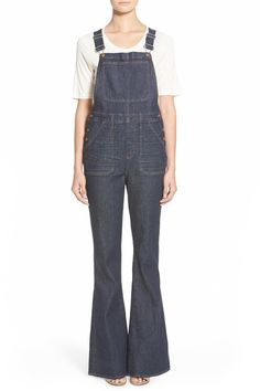 'Flea Market' Flare Overalls  by Madewell on @nordstrom_rack