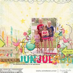 A Taste of Summer by Studio Basic and Digital Scrapbook Ingredients A Taste of Summer: Artsy Stuff by Studio Basic and Digital Scrapbook Ingredients Font: The Blanche #sweetshoppedesigns #digiscrap #digitalscrapbooking #scrapbook #layout