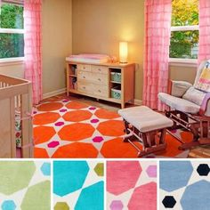 Meticulously Woven Alyssa Geometric Area Rug (2' x 3') Pink - (2' x 3')