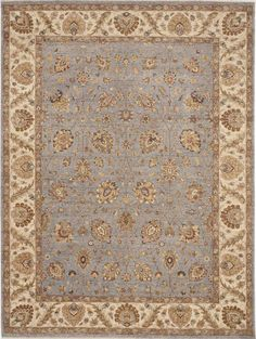 Traditional Hand-Knotted Rug - 9'x 12' on Chairish.com