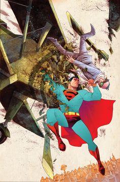Francis Manapul Superman WIP (5/5)