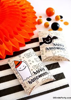 Free Party Printables to Download for Halloween!