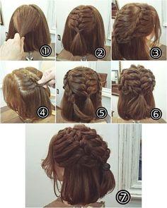 Hướng dẫn làm các kiểu tóc đơn giản nhưng đẹp hết nấc tha hồ đi chơi Tết #easyhairstylesshort