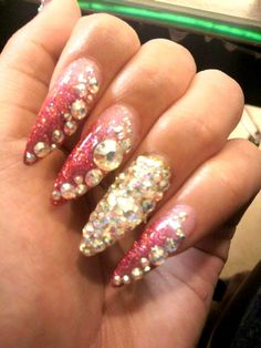 extreme deco. i hate pointyass nails