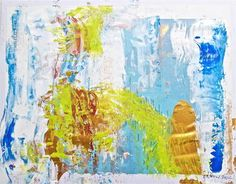 "Saatchi Art Artist Geoff Howard; Painting, ""Abstract Map 2"" #art"