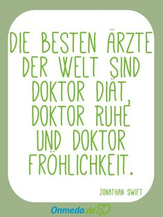 Onmeda - für meine Gesundheit Portal, Motivation, Words, Wise Words, Thoughts, Feel Better, Cool Quotes, Medicine, Proverbs Quotes