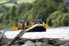 Val di Sole white water rafting