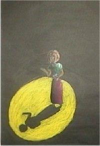 valo ja varjo mustalle paperille Art Classroom, Teaching Art, Art School, Art Education, Art Lessons, Art For Kids, First Love, Arts And Crafts, Symbols