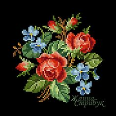 Hardanger Embroidery, Cross Stitch Embroidery, Hand Embroidery, Cross Stitch Rose, Cross Stitch Flowers, Cross Stitch Designs, Cross Stitch Patterns, Crochet Placemats, Vintage Cross Stitches
