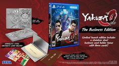 latest News on the Business Edition of Yakuza 0.
