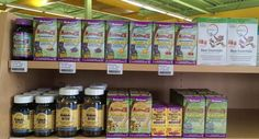 Let's not forget the kiddos-- multivitamins, omega-3s, and more specifically for your children. #TerryNaturally