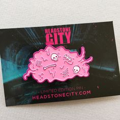 The Blob Horror Enamel Pin