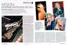 Revista Para Ti: Concurso de diseño de lentes Valeria Mazza Eyewear en Feria Puro Diseño