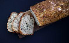 Schnelles einfaches Brot mit Körnern Rezept
