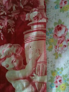 French Brocante  French Antique Textiles
