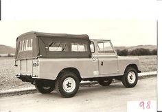 Land Rover Santana Series III 109 PU canvas