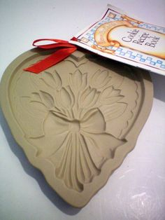 1984 BROWN BAG Cookie Art Mold TULIPS with Booklet $69.99