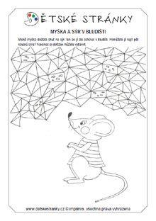 Myška a sýr v bludišti