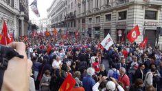 La Partenza           Manifestazione Roma 12 ottobre 2013