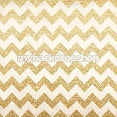 Backdrop 2. Exclusive Design! 7ft x 7ft Gold Glitter Chevron Photography Backdrop - Party Photo Booth Backdrop - Vinyl - Item 1984