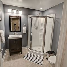 25+ Small Bathroom Ideas with Shower_27