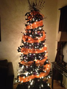 Halloween Christmas On Pinterest Black Christmas Trees