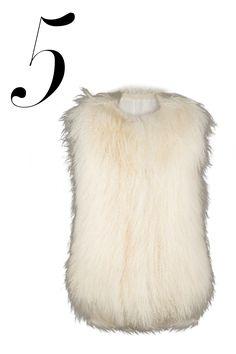 BOHO ESSENTIALS 5: FURRY VEST; Les Nouvelles vest, $1,095, shopBAZAAR.com.   - HarpersBAZAAR.com