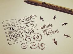 Beautifully Inspiring Typographic Tips by Sean McCabe San Antonio-based hand-lettering artist Sean McCabe is known around the world for his excellent designs and typography. His wonderful works offer inspiring tips Calligraphy Letters, Typography Letters, Typography Design, Caligraphy, Typography Sketch, Typo Design, Quote Design, Graphic Design, Love Doodles