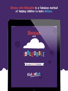#Division with Ibbleobble | We make perfect friendships... #education #appstore