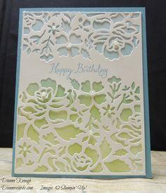 Floral Thinlits Birthday