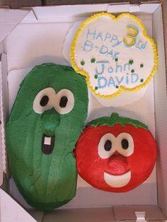 Veggie Tales cake