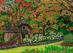 Stone Cottage ~ Canada by Thelma Winter
