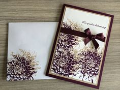 Like the envelope as well. Stamped flowers | botanical