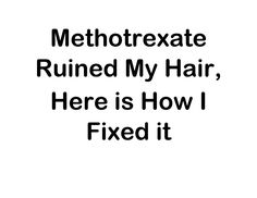 Methotrexate Hair Loss Folic Acid