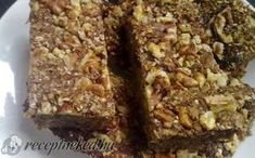 Almás zabpelyhes sütemény recept fotóval