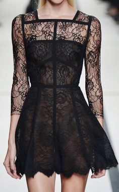 Sheer lace
