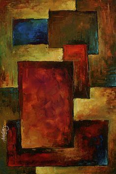Michael Lang abstract I'd like to make a nice area rug