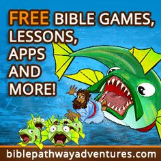 FREE Bible games, lessons, apps, and more!
