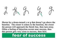 Fear of success handwritinguniversity.com