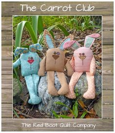 The Carrot Club Bunny Softies pattern on Craftsy.com (I have this pattern)