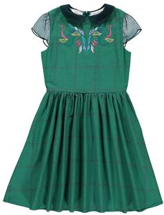 Up North Organic Cotton Embroidered Dress