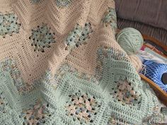 Grannies and Ripples Afghan, Visit the post for more.