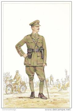 BRITISH ARMY - Captain Corps of Royal Engineers, possibly early 1915