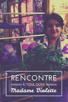 Hélène Vié à la Péniche Maison de la Violette, #Toulouse © Vie Nomade (@vienomade ) #visiteztoulouse
