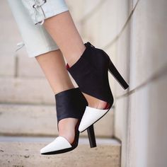 Fancy - Barnes Bootie by Jeffrey Campbell