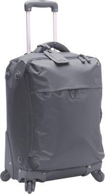 """Lipault Paris 22"""" 4 Wheeled Carry-On Grey - via eBags.com!"""