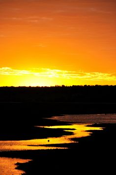Sunrise over Chobe National Park, Botswana