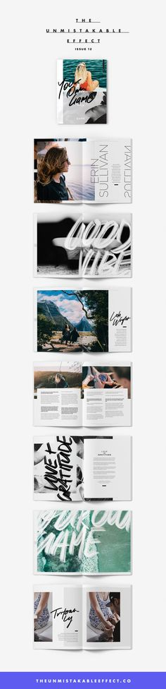 The Unmistakable Effect Magazine, Issue 12 | Feat. Erin Sullivan, Rachel Ricketts, Jess Quinn, Lola Wright, Alexandra Olsen (Violet Gray), Tritoan Ly (Seventh Day Studio), and Steph Jagger | http://theunmistakableeffect.co/issue-12
